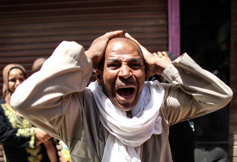 Image: EGYPT-UNREST-TRIAL-ISLAMIST-VERDICT