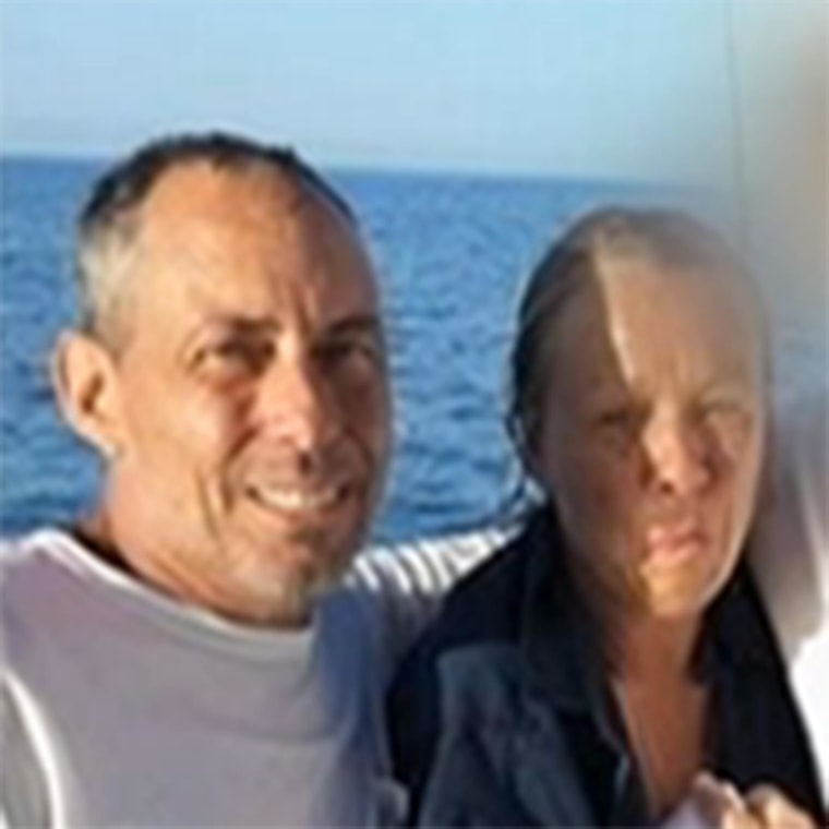 Couple found after treading water for 14 hours when they fell off their boat in Key Largo, Fla.