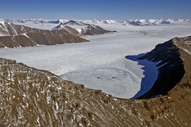 Image: Greenland glacier