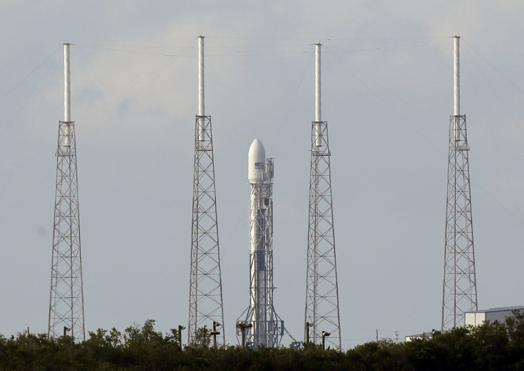 Image: SpaceX Falcon 9 rocket