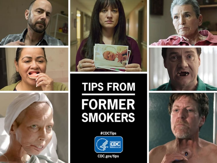 A new anti-smoking campaign from the CDC
