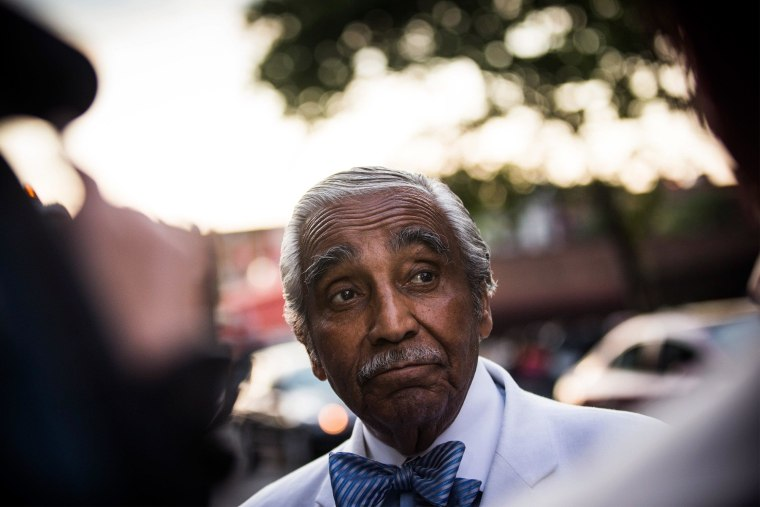 Image: Charles Rangel Campaigns In Harlem One Day Before New York Primary