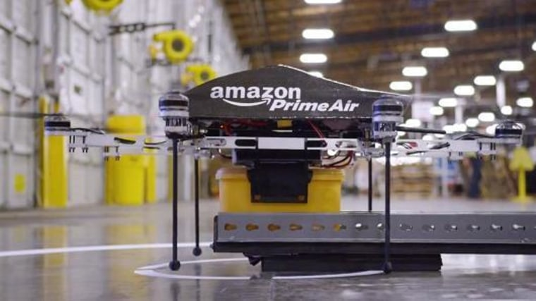 Image: Amazon Prime Air delivery drone