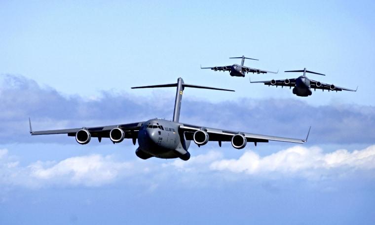 Image: Boeing C-17 Globemasters