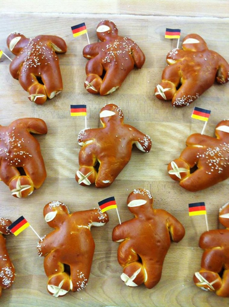Image: The Klinsmann Bakery Facebook page features baked goods inspired by the World Cup.