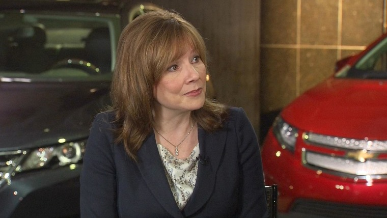 GM's Mary Barra is interviewed on TODAY