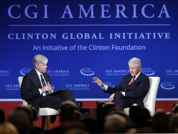 Bill Clinton, David Gregory