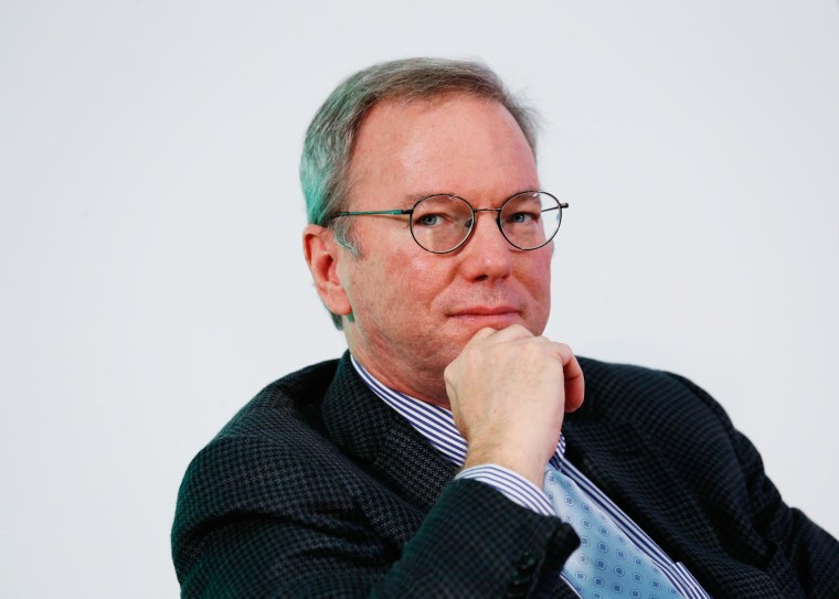 Image: Google Executive Chairman Schmidt