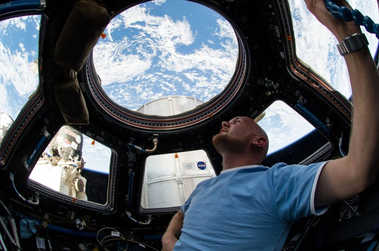 Image: European Space Agency astronaut Alexander Gerst