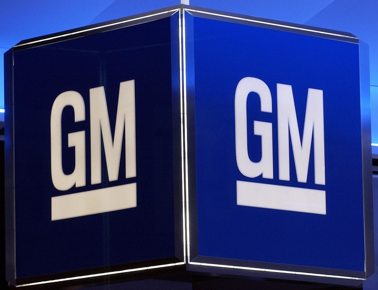 Image: The corporate logo for the General Motors Corporation