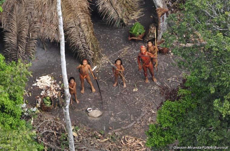 Image: Uncontacted people in Amazon