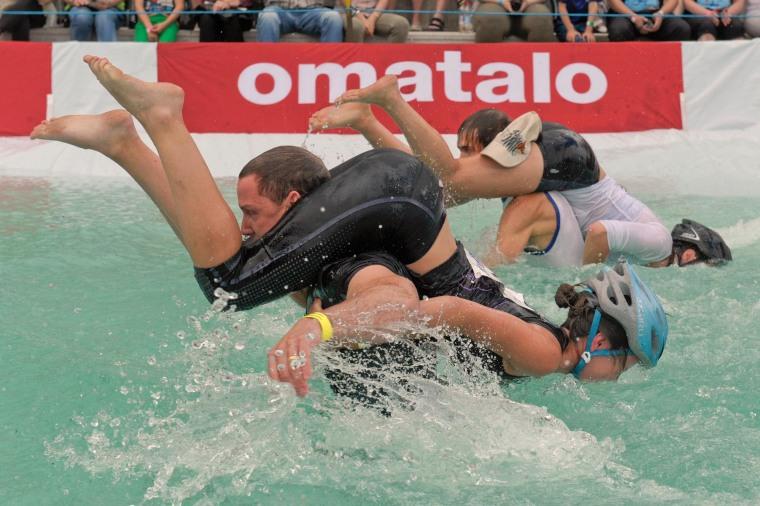 Image: Wife Carrying World Championships in Sonkajaervi, Finland