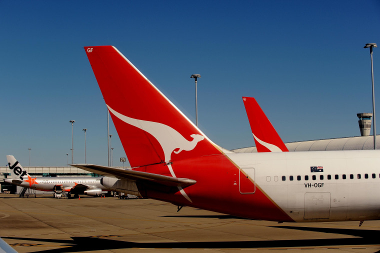 Image: Planes sitting on the tarmac at Brisbane Airport