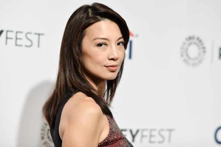 Actress Ming-Na Wen arrives at PALEYFEST 2014 in Los Angeles.