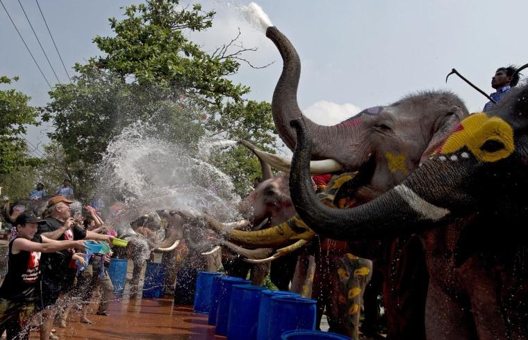 Image: THAILAND-LIFESTYLE-NEW YEAR