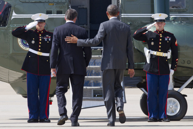 Image: Barack Obama, Rick Perry