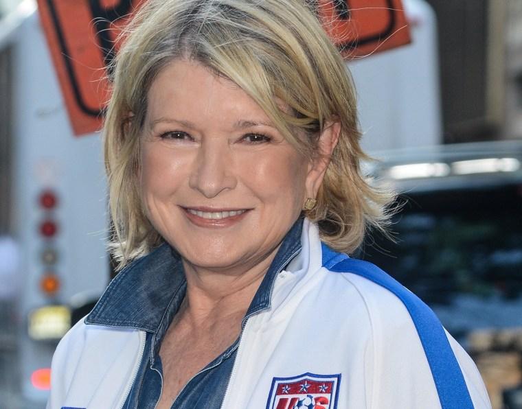 Television personality Martha Stewart