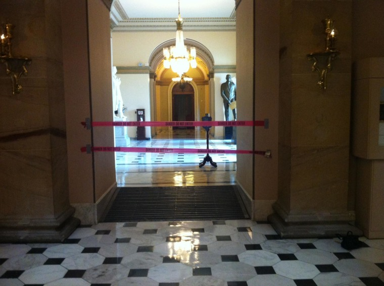 Part of U.S. Capitol Closed Due to Potential Asbestos Issue