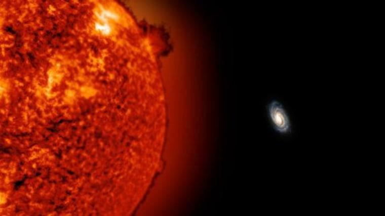Distant Milky Way Star