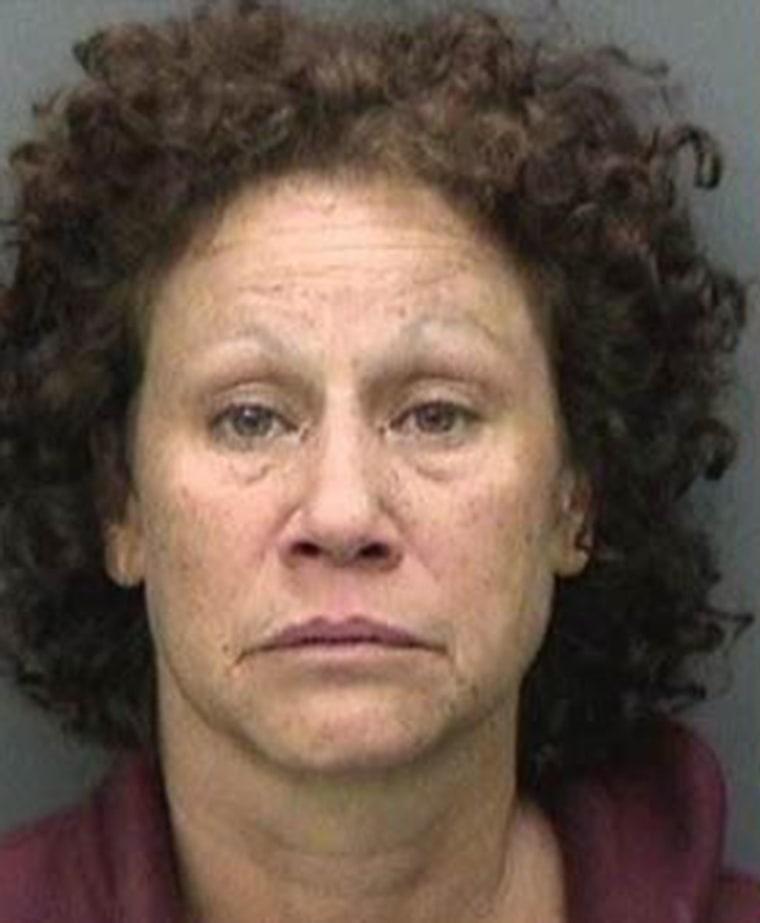 Henrietta Regina Dickson was found dead under a car. Hillsborough Co. Jail booking photo from prior arrest.