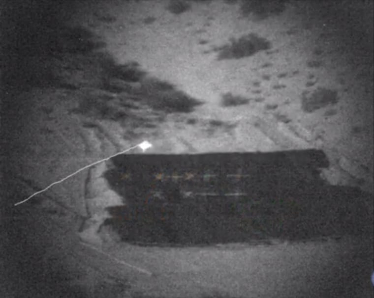 Image: Screenshot from one of DARPA's live-fire tests of the agency's EXACTO system