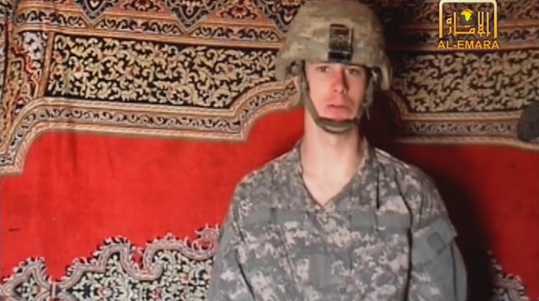 Image: A frame grab from a Taliban video purportedly showing U.S. soldier Bowe Bergdahl.
