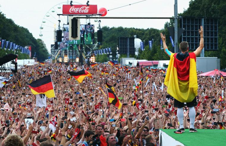 Image: Germany Victory Celebration - 2014 FIFA World Cup Brazil