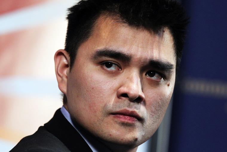 Image: FILE: Immigration Activist Jose Antonio Vargas Detained Jose Antonio Vargas Dicusses Life As Illegal Immigrant In U.S.