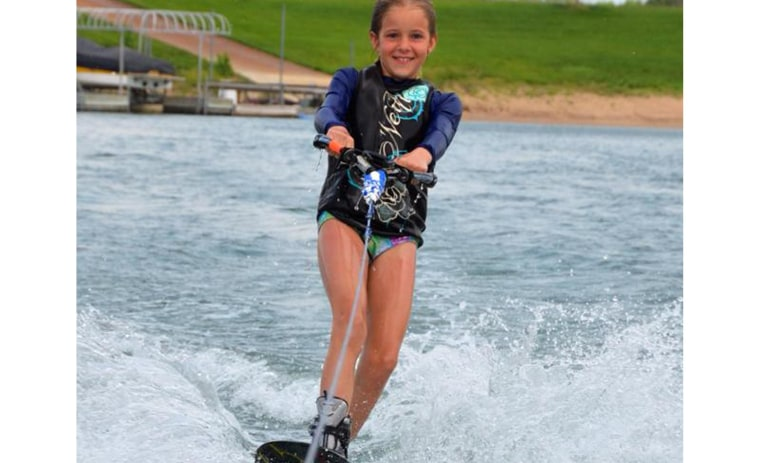"Avid waterskiier Hally Yust, 9, of Kansas, was killed by a ""brain-eating amoeba."""