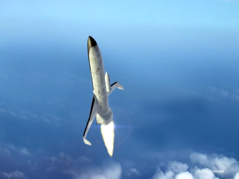 Image: DARPA's conception of Experimental Spaceplane (XS-1)