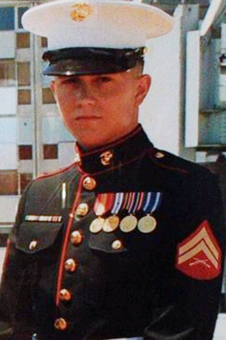 Image: U.S. Marine Brian LaLoup who died in 2012 while stationed in Greece in this undated photo.