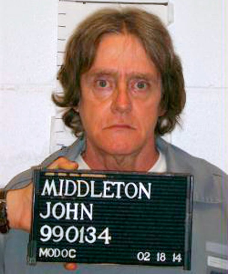 Image: Missouri Department of Corrections handout shows death row inmate John Middleton
