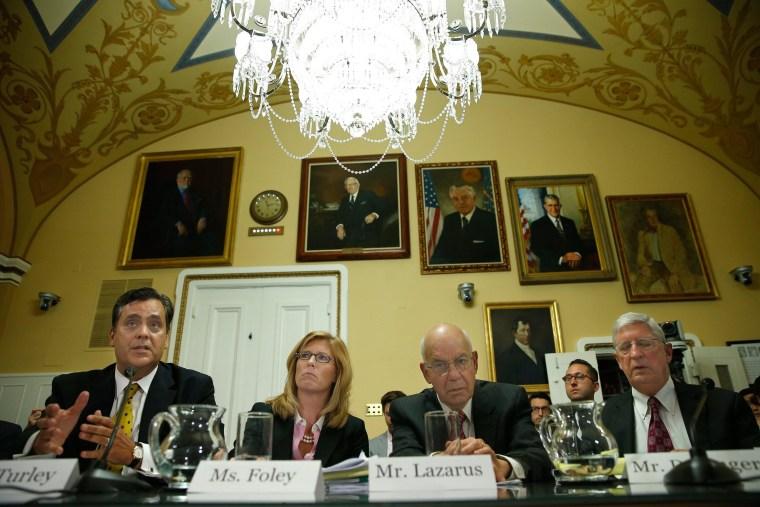 Image: House Rules Committee Debates Lawsuit Against President Obama