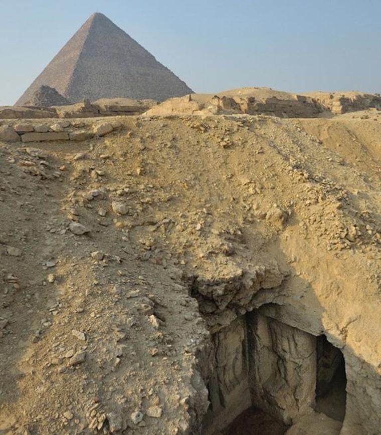 Giza tomb
