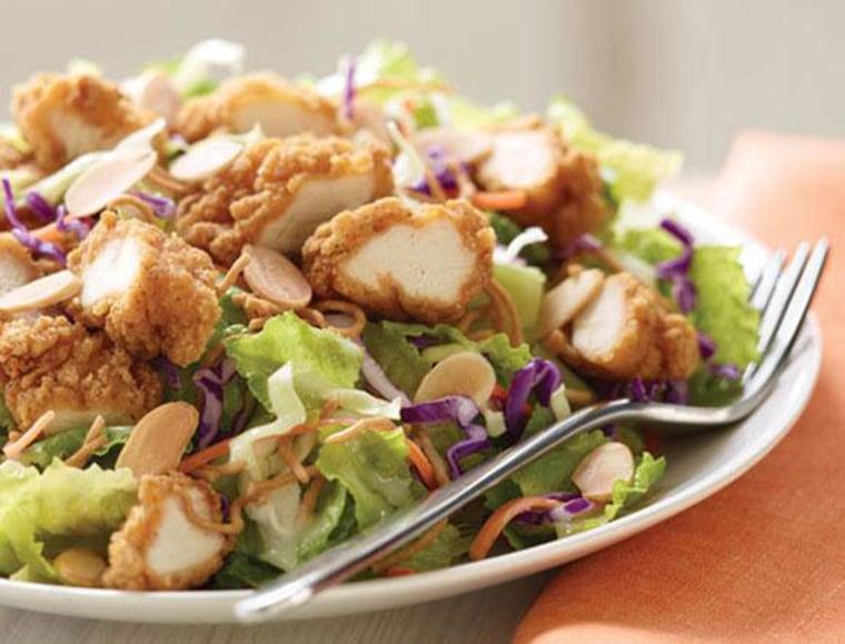 Image: Applebee's Oriental Chicken Salad.