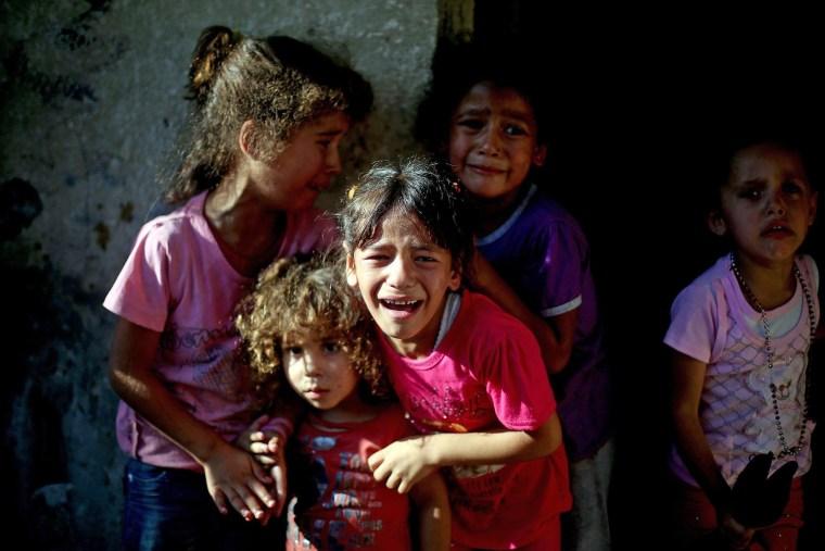 Image: Israeli airstrike kills 4 Palestinian children in Gaza