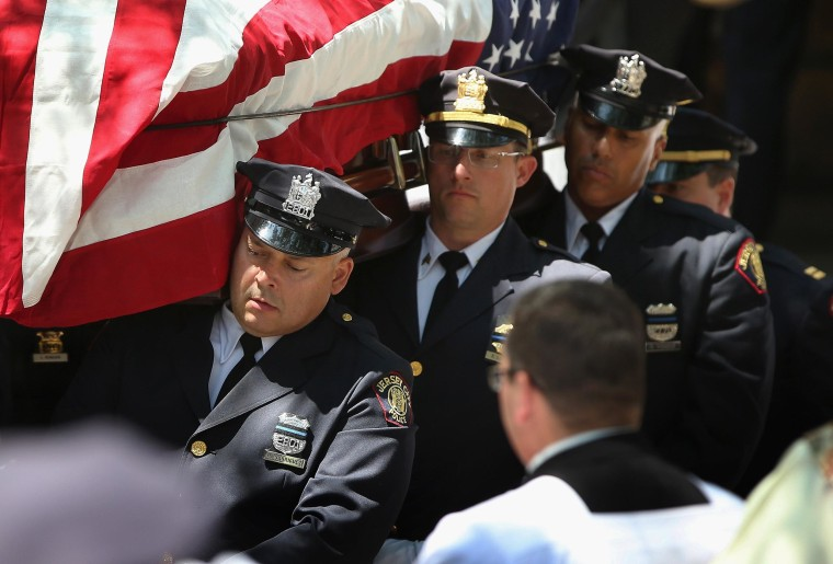 Image: Funeral Held For 23-Year-Old Jersey City Police Officer Killed On Duty