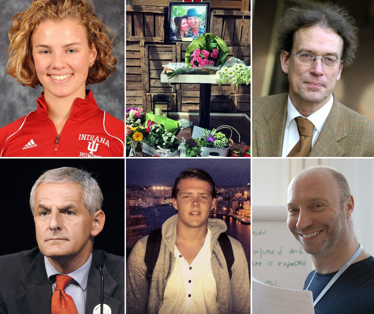 Image: Clockwise from top left: Karlijn Keijzer, Neeltje Tol and Cor Schilder, Willem Witteveen, Glenn Thomas, Quinn Lucas Schansman and Professor Joep Lange.