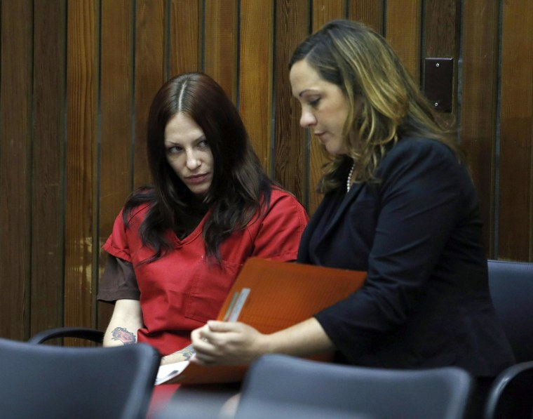 Image: Alix Tichelman arraignment for Forrest Hayes death
