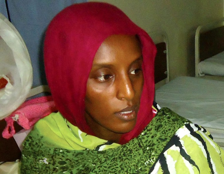 Image: Sudan court orders release of Christian woman on death row