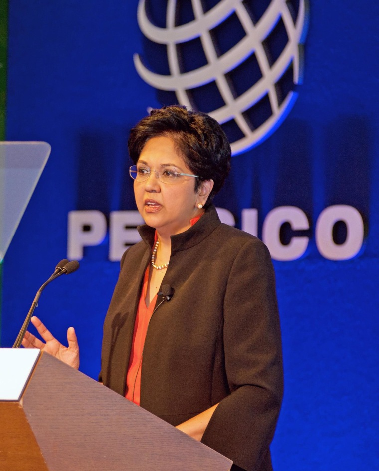 Image: Indra Nooyi, PepsiCo Chairman and CEO