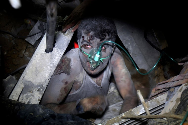Image: Israel destroys Selam family's house in Khan Yunis