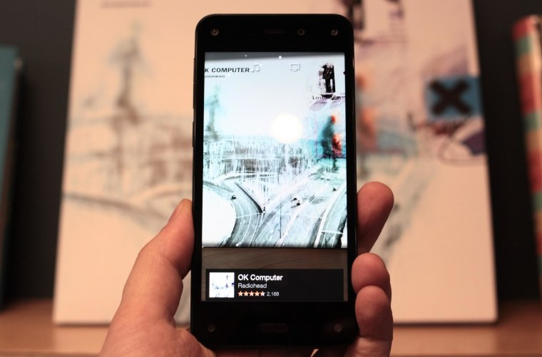 The Firefly app in action. It identifies millions of products, songs, and shows, with things like fine art coming soon.