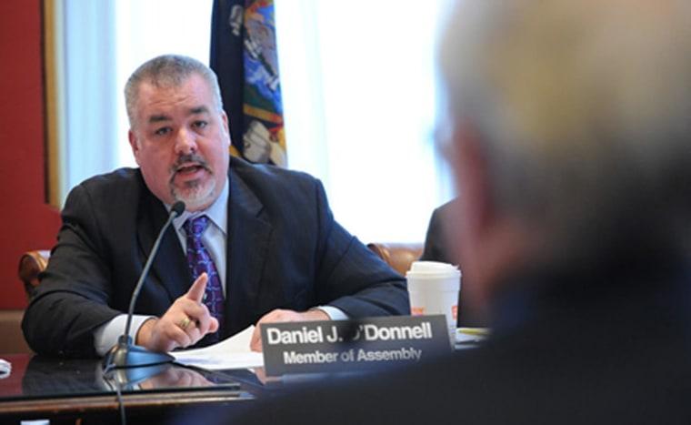 New York State Assembly member Daniel J. O'Donnell