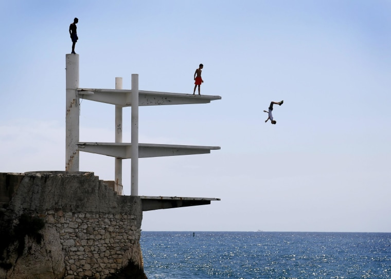 Image: Summer day on the French Riviera