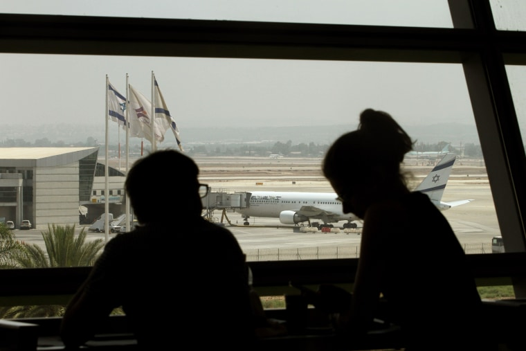 El-Al flight