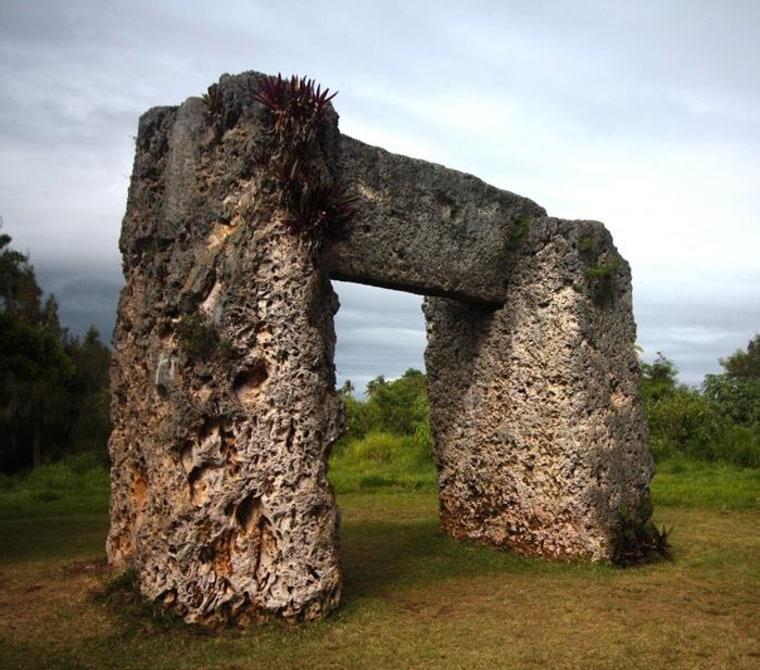 Image: Tonga stone structure
