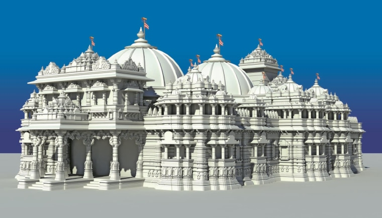 World's Largest Hindu Temple Being Built in New Jersey