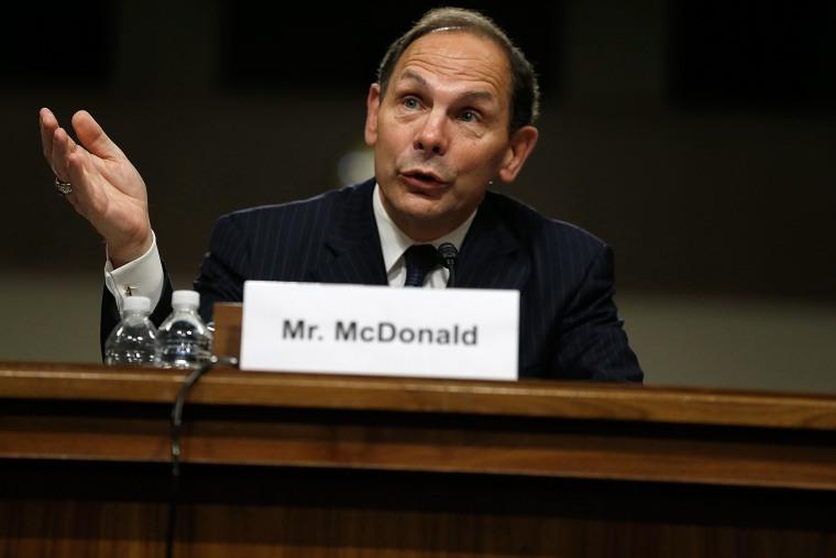 Image: Confirmation Hearing Held For Robert McDonald, Nominee To Head Veteran's Affairs Department