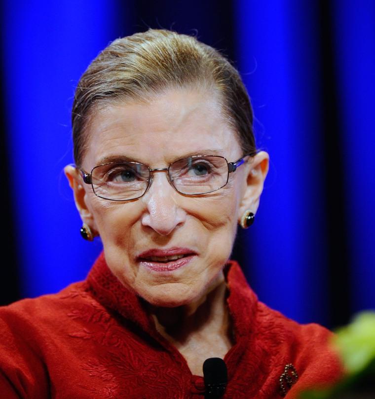 Image: Justice Ruth Bader Ginsburg